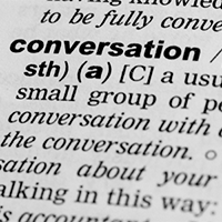 Conversation skills as a guide to commercial communication